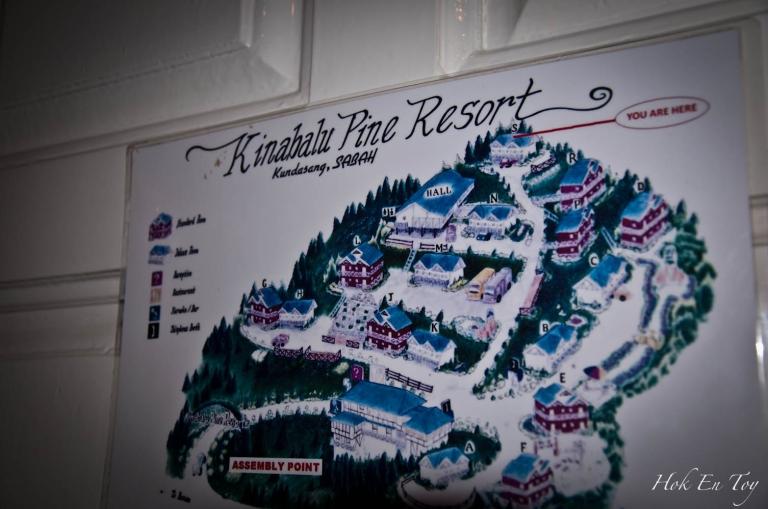 map kinabalu pine resort (1 of 1)