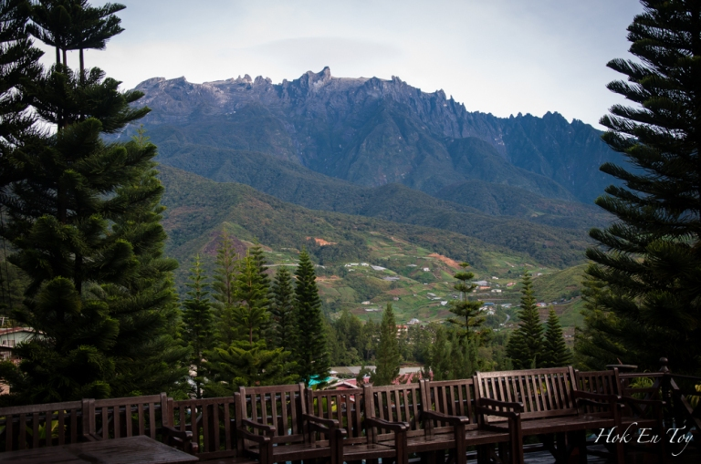 Kinabalu from viewing deck