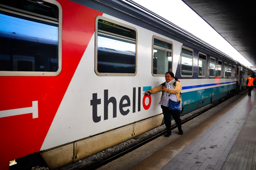 Thello train. Selesa biarpun tak luxury