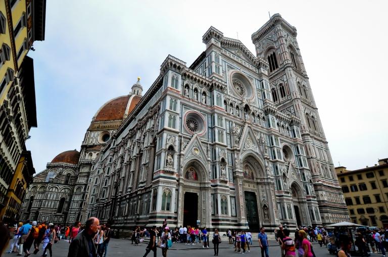 Florence Cathedral. Salah satu bangunan yang famous di Florence.