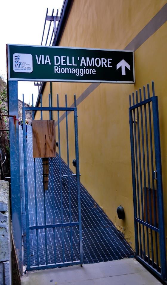 Laluan Val Dell Amore yang di tutop