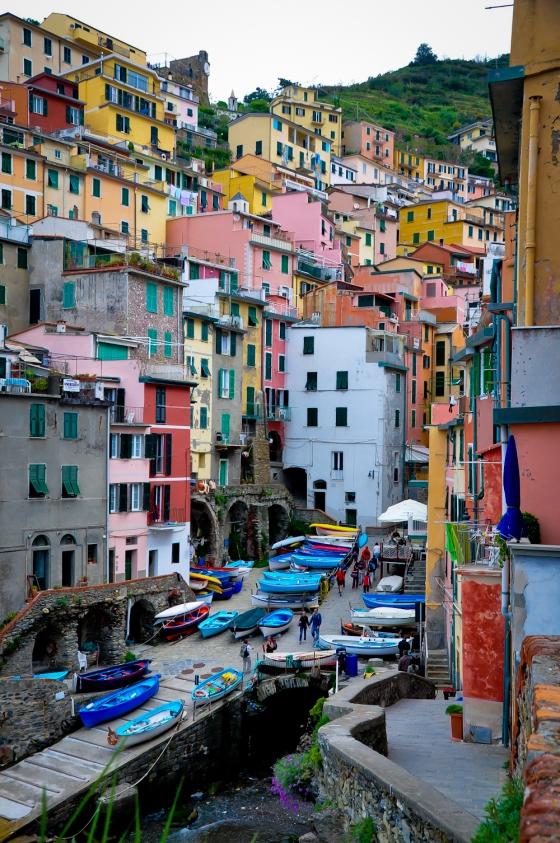 Rumah-rumah di Riomaggiore