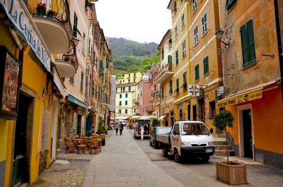 Kawasan di dalam Vernazza