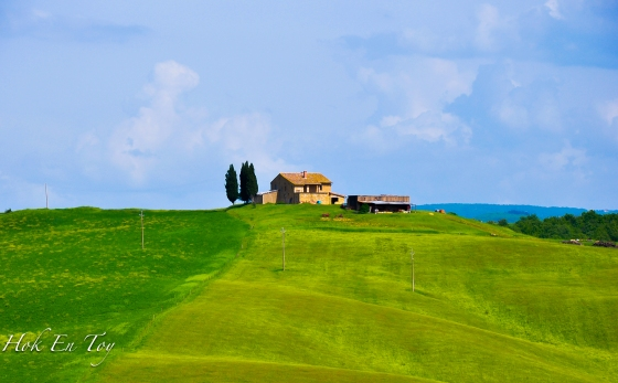 I'm in love with Val d Orcia.