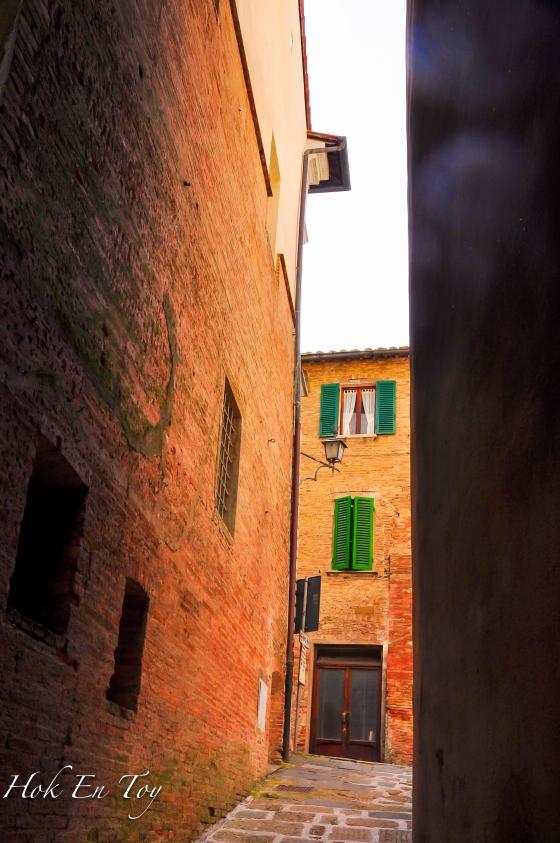 Sebahagian rumah yang ada kat Montepulciano