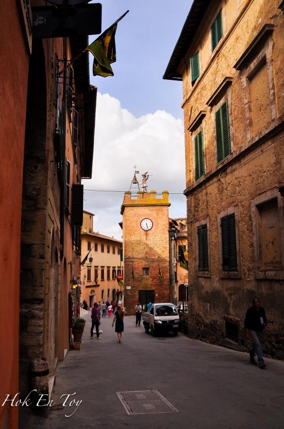 Medieval Village - Montepulciano