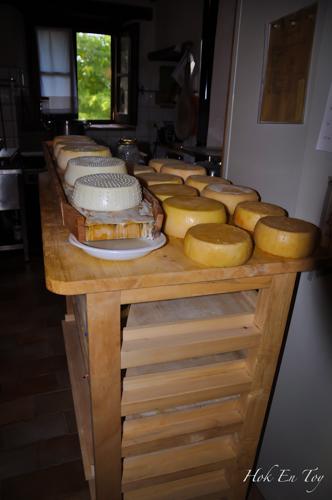 Cheese yang dah siap dimasak