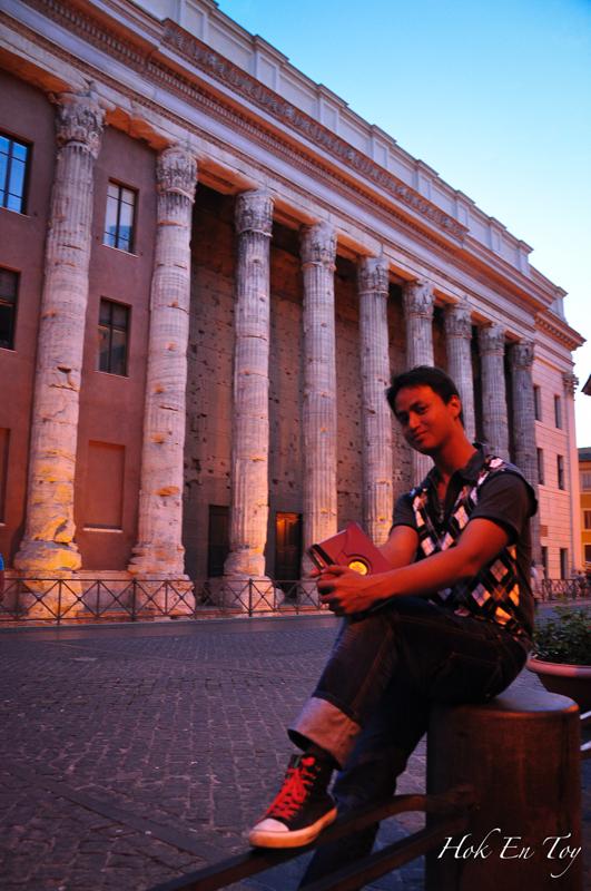 Oleh kerana Rome ni wishlist Aril, so banyak le gambar dia kat Rome ni. Tambahan pulak camera dia jatuh kat Val d orcia aritu