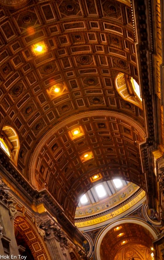 vatican roof