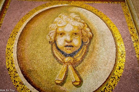 vatican tiles
