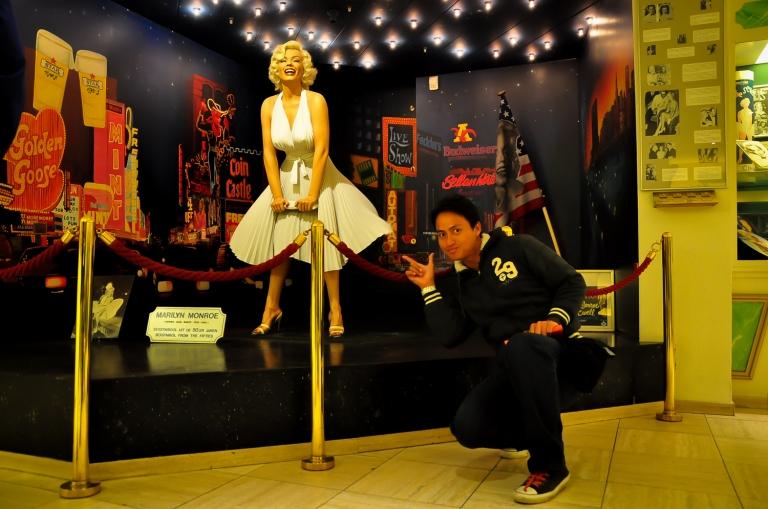 Patung Marilyn Monroe. Patung ni je yang sopan kat dalam museum ni. Yang lain tu tak lepas tapisan Lembaga perfileman Malaysia