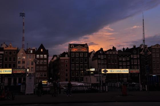 Bye-bye Amsterdam. Hope to see you again...