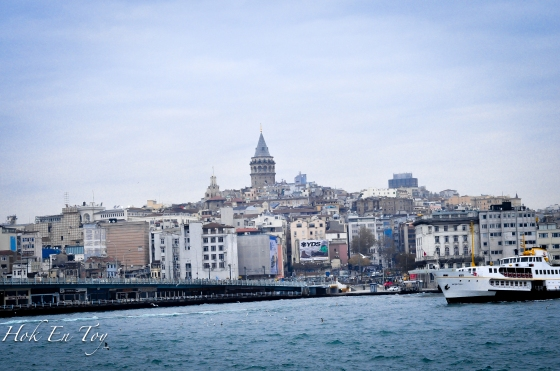Galata Tower dari Ferry