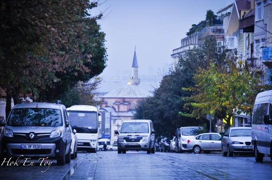 Sepanjang perjalanan ke Blue Mosque