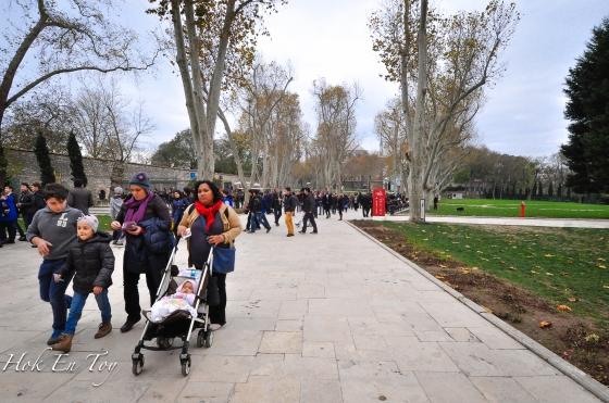 Taman dalam Palace