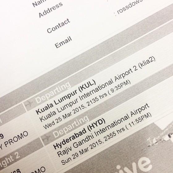 Booked. Air asia return RM 170 tak termasuk bag.