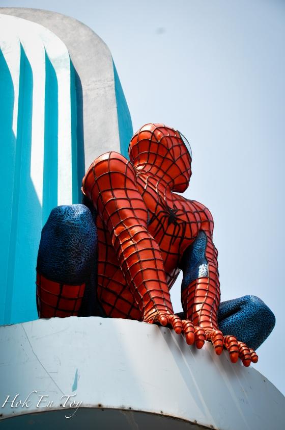 Mr spider man pon ada
