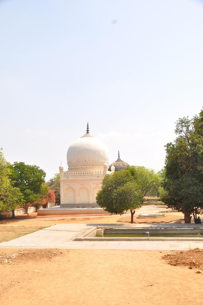 Tomb of Sultan Quli Qutb Shah. Sultan pertama Dynasty Qutb Shah