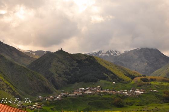 kazbegi view
