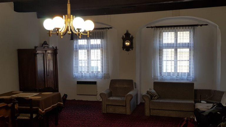 cesky bnb living room