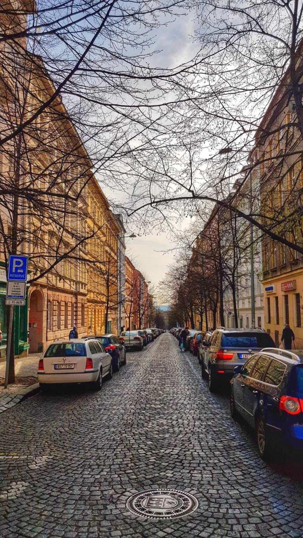 praha street