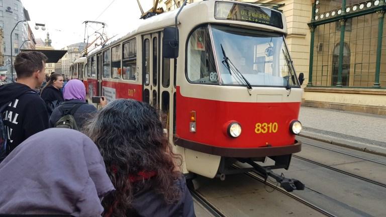 praha tram